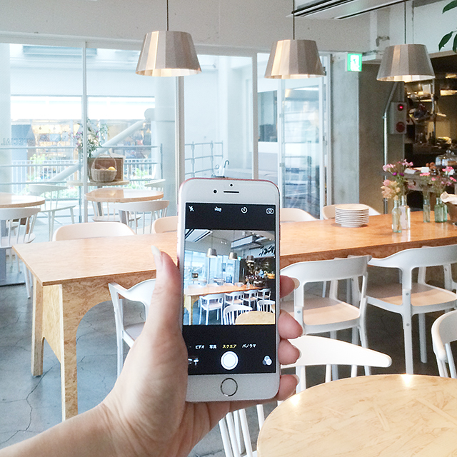 iPhoneのカフェ写真がワンランクアップ! 写真の歪みを直す方法
