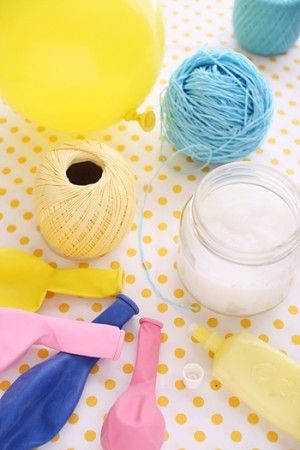 繊細・涼しげ 糸を巻いてつくるランプシェード