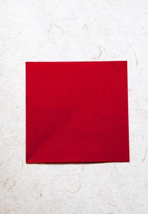 和紙(厚めの和紙)・・・10x10cm  *和紙が薄い場合は2枚重ねて!
