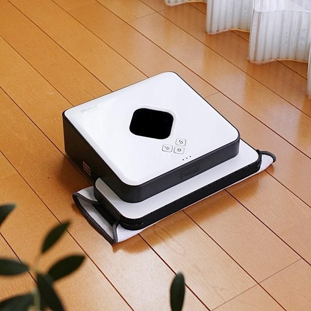 便利なスゴ家電! 床拭きロボット「ブラーバ」の実力とは?