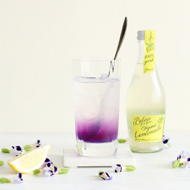 アンチエイジングの青いお茶「バタフライピー」☆パーティードリンクレシピ