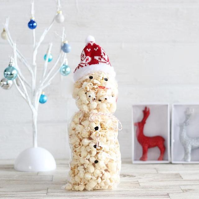 クリスマスのワンコインギフト☆食べられる雪だるまの作り方