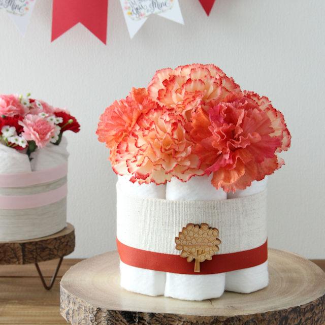 出産祝いに人気♪ 簡単かわいいダイパーケーキ(おむつケーキ)の作り方
