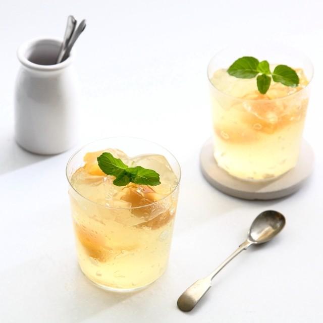 レモンの酸味で体をリセット!しゅわしゅわレモンゼリーの作り方