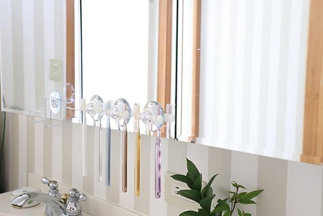 セリア 100均 歯ブラシ 収納 歯ブラシホルダー