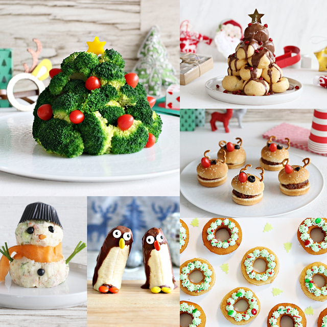 市販品を使って簡単! クリスマスの献立 7品