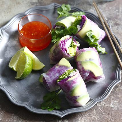 お正月太り解消に! 野菜タップリのヘルシーな生春巻きの作り方