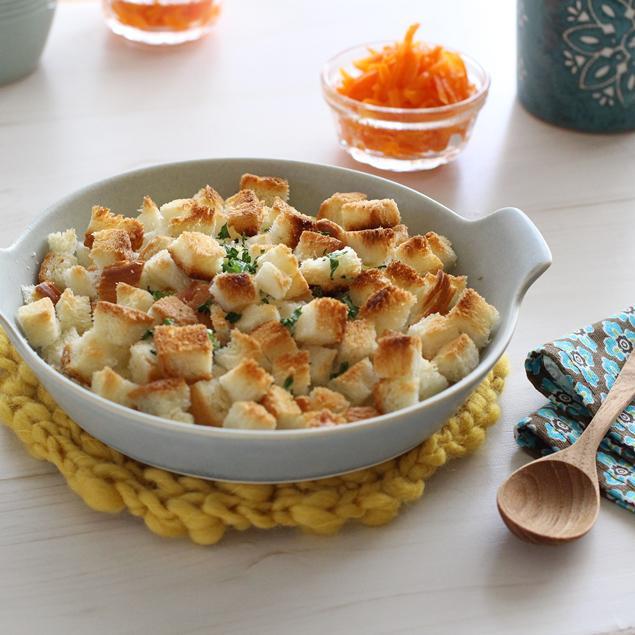 時短&簡単レシピ♪ 鮭中骨缶でスコップクリームコロッケ
