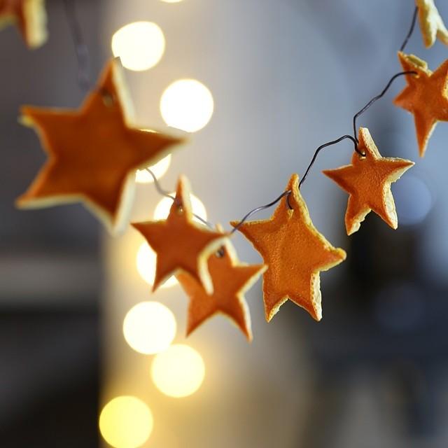 香りとともに迎える冬 ~簡単オレンジピールのクリスマスオーナメント~