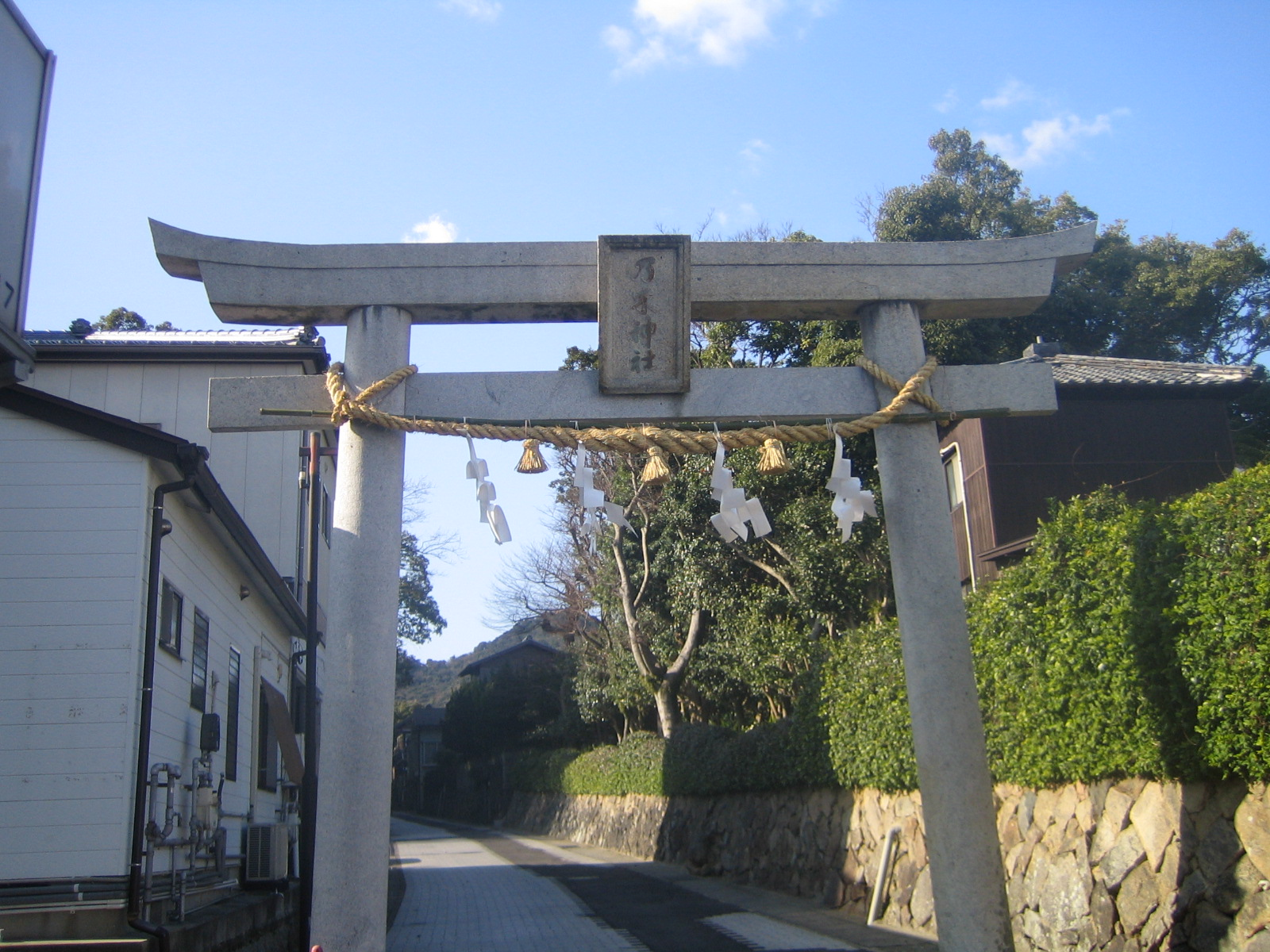 乃木神社の鳥居