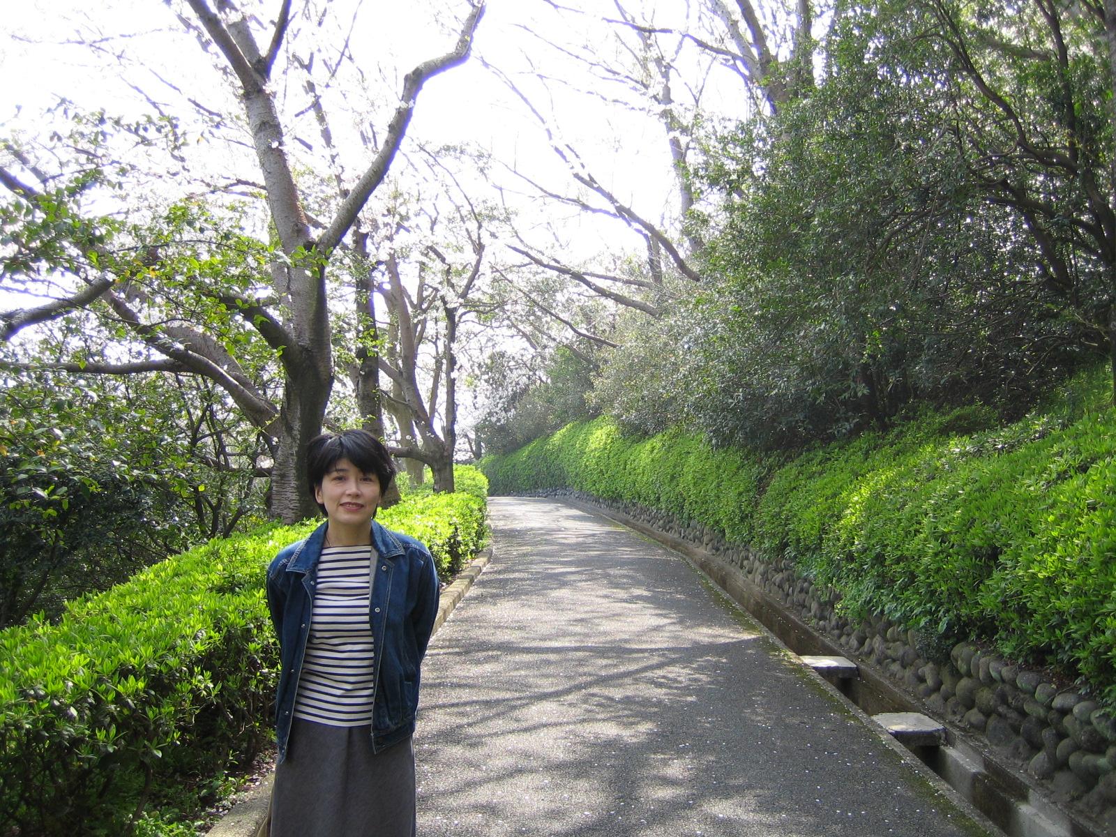 乃木神社の近くで