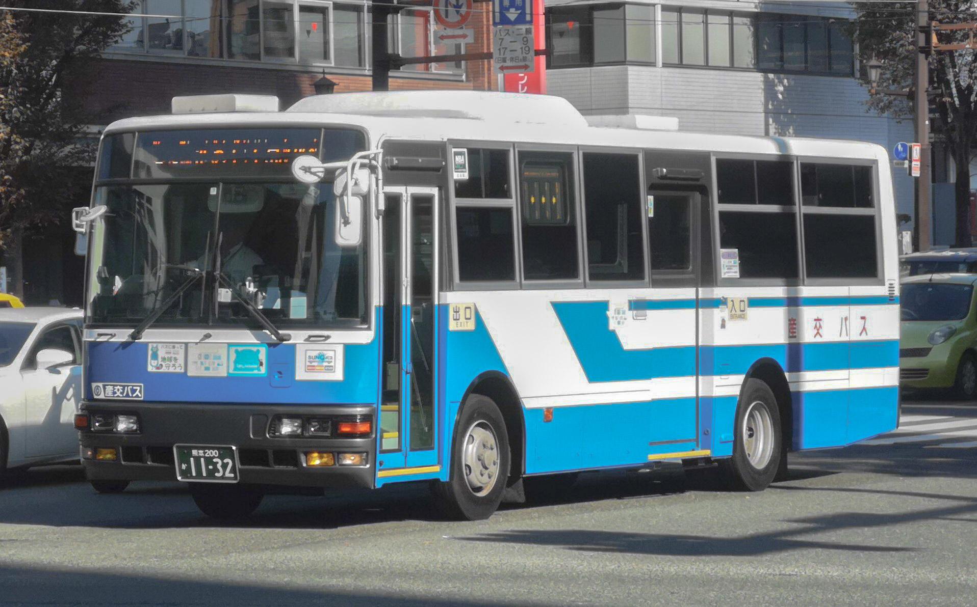 🚌BUS画像館熊本🚏ASOエクスプレス号(福岡ー阿蘇線)とAso-go(熊本ー阿蘇線)は、10月11日(日)をもって運行休止(利用客低迷により路線維持・継続困難な為)。  産交バス 熊本200か1132コメント                kmbdt926
