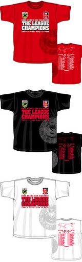 優勝記念T-shirts