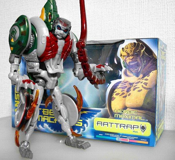 Beast Machines:RATRAP  今年は子年。ということでビーストウォーズリターンズ