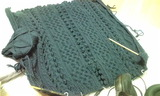 ブランケット2編みかけ