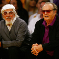 Lou Adler and actor Jack Nicholson