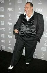 Louis Lombardi at Emmy Party