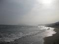 七里ケ浜から見た江ノ島