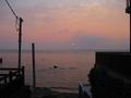江ノ島から見た夕陽2