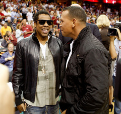Jay Z and Alex Rodriguez