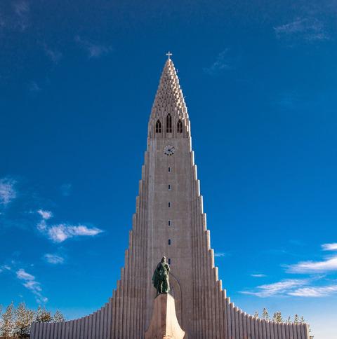 パブリックドメインQ  アイスランド ハットルグリムス教会
