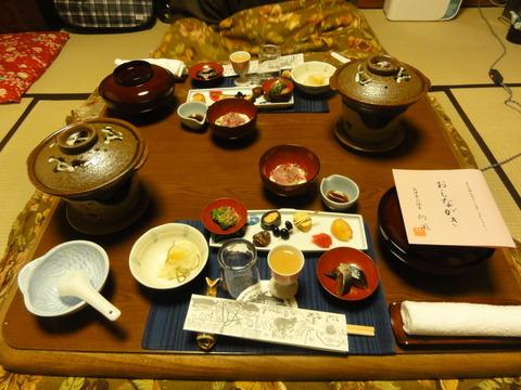 ノー夫婦が大好きな会津料理がてんこ盛り