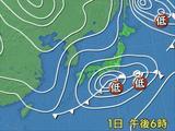 2月1日 天気図