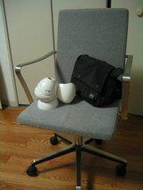 椅子、鞄、プラネタリウム