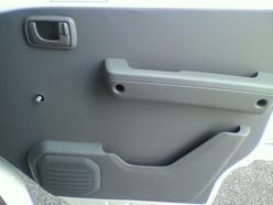 ミニキャブ窓開閉レバーの取り外し方
