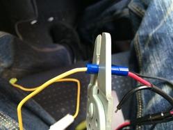 ドライブレコーダー ユピテル(DRY-FH22)取り付け3-7