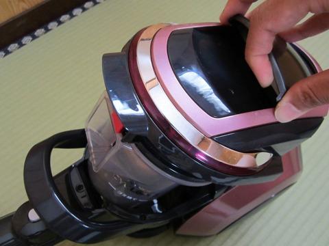 シャープサイクロン掃除機 EC-PX200-Pを購入した感想2