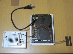 パナソニック(panasonic)のメロディサインチャイム EC730W 設置4