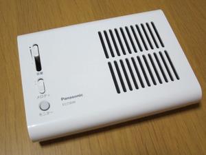 パナソニック(panasonic)のメロディサインチャイム EC730W 設置1