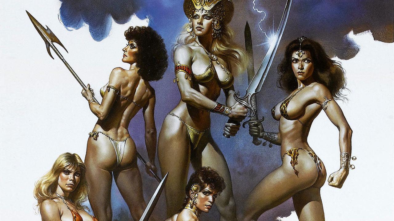 緊縛 女侠客 緊縛  (260)イラストの美女と美少女30野獣女戦士・アマゾネスクイーン