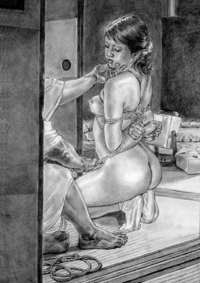 官能劇画鏡堂みやび 緊縛絵 ヴァニラで責め絵展、鏡堂、椋、美濃村、小妻も | 銀座新聞ニュース