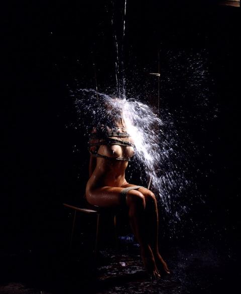 (398) 美しきエロスの美女(7)17ある女04 水責め
