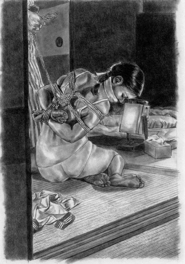 椋陽児少女緊縛 (260)イラストの美女と美少女25椋 陽児