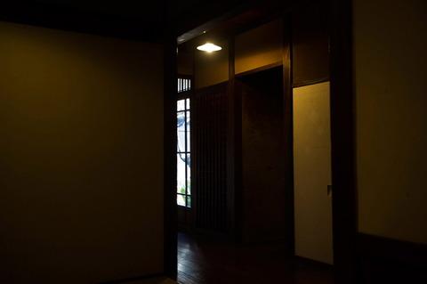 第86話01、怪人屋敷の廊下