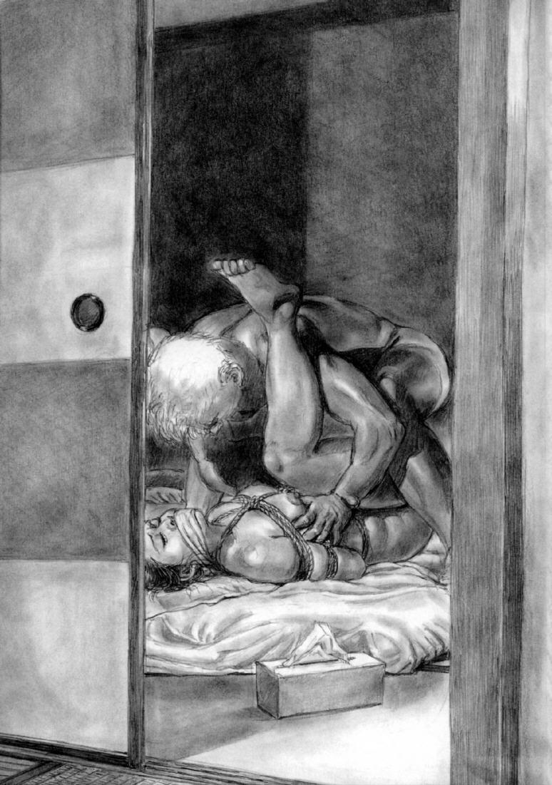 大正昭和 緊縛イラスト 美しき女性の緊縛美 (423) 絵画と緊縛責め絵の美女と美少女 (1 ...