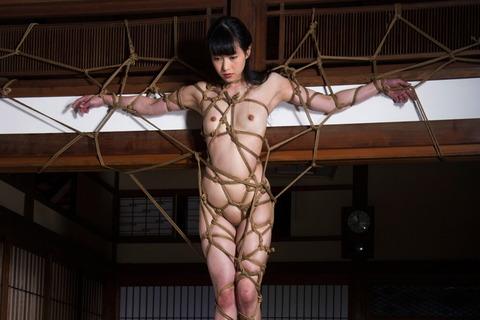 (398) 美しきエロスの美女(7)07吉岡愛花、蜘蛛の巣縄