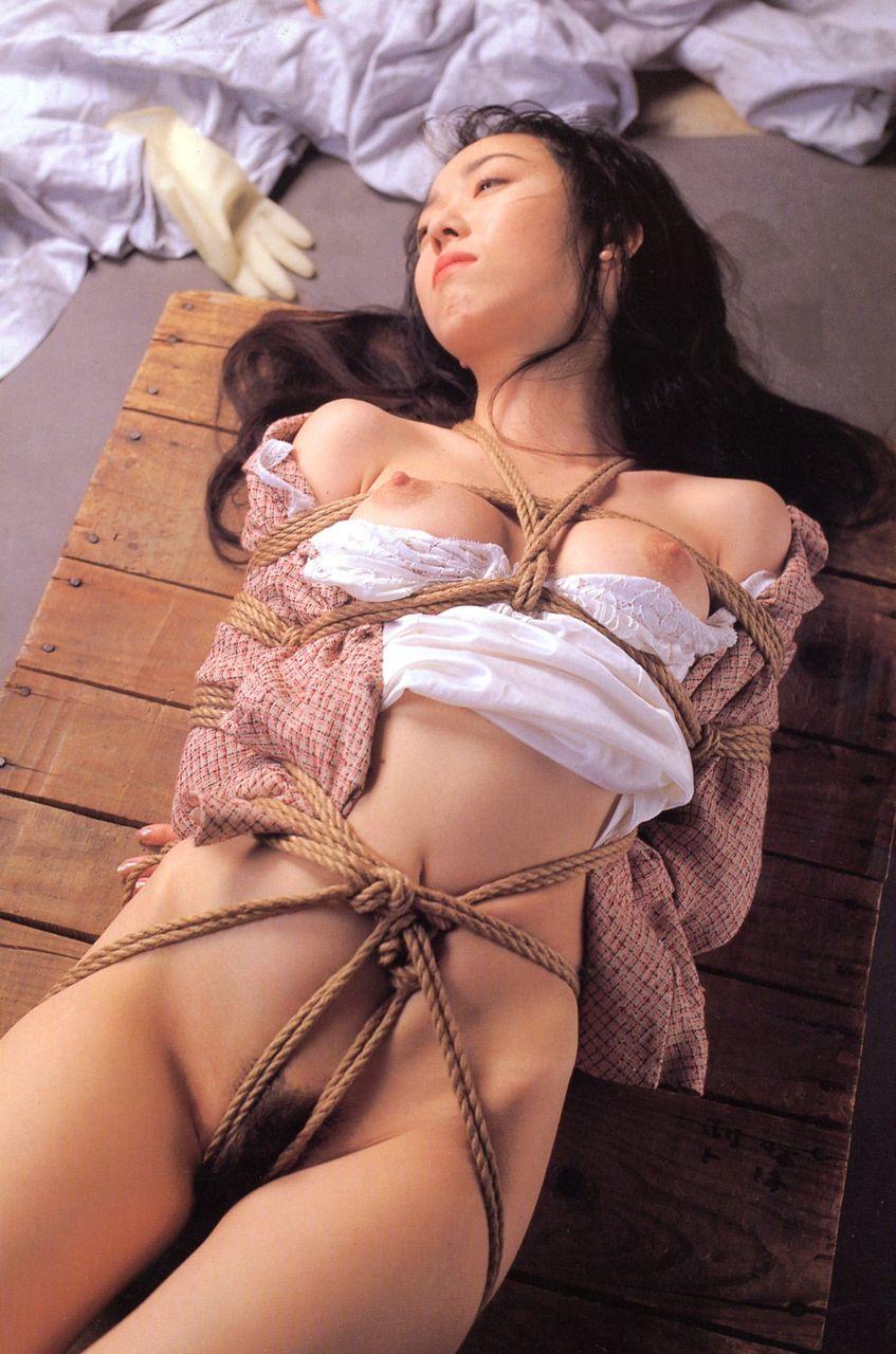 緊縛 吊り 全裸 一本 縄 美しき女性の緊縛美 (87)(9) 続・肉体の賭け(平沙織)逆さ吊りと強制自慰