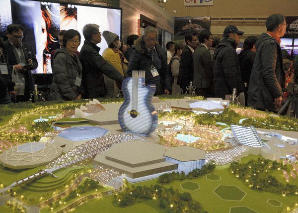 ハードロック・ジャパン、ギター型ホテル建設を構想 苫小牧IR誘致で