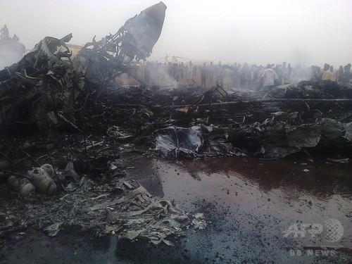 南スーダンのワウ州ワウ空港で旅客機が着陸に失敗、37人負傷 機体炎上