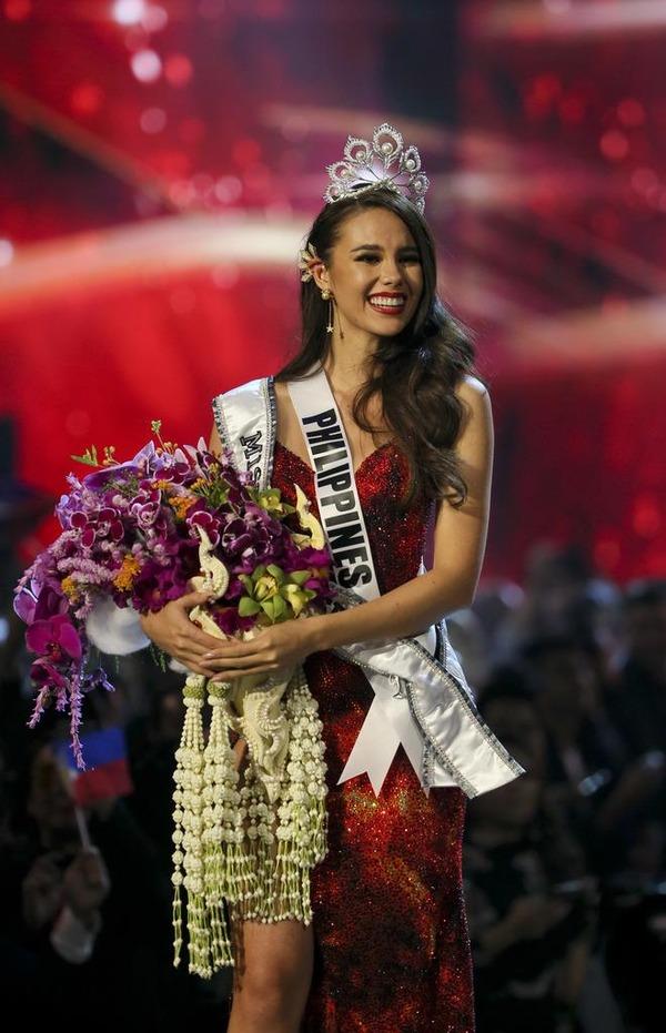 ミス・ユニバース世界大会 フィリピン代表のカトリオナ・グレイさん優勝