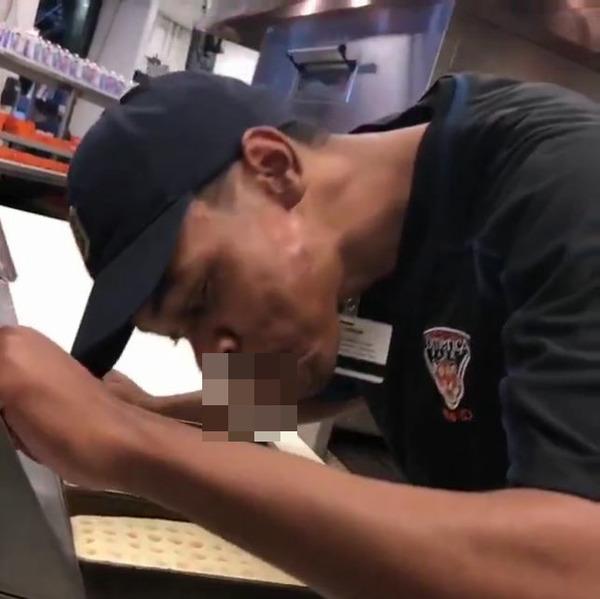 メジャーリーグのレストランで働く男性 ピザにツバを吐く映像が流出し懲役4年の危機