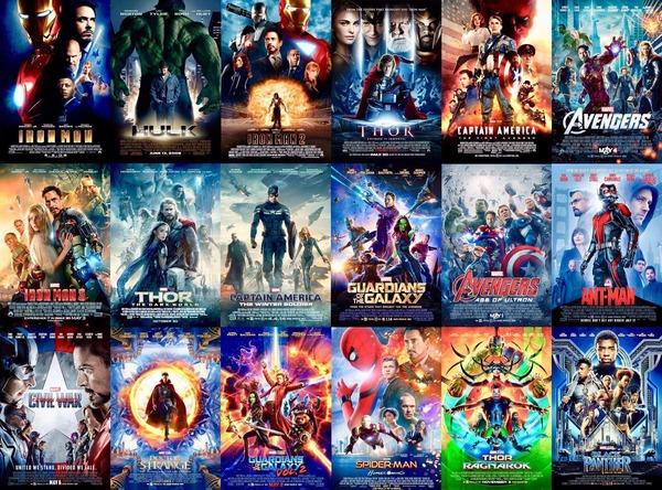 アイアンマン1から映画館で見てるワイがMCU映画格付け作ったぞ