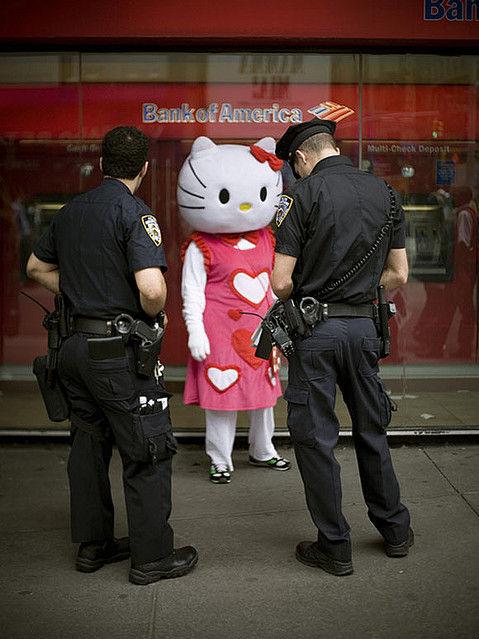 じわじわくる画像キティ逮捕