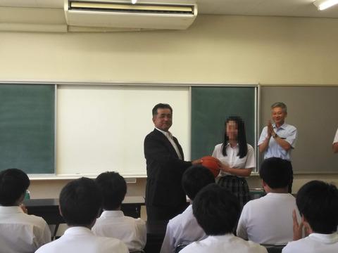 藤岡北高 バスケットボール1