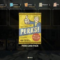 【フォールアウト76】Perkカードの仕様と仕組みについて教えてくれ