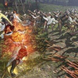 【無双OROCHI3】PS4でも神格化して固有神術すると処理落ちが酷いな
